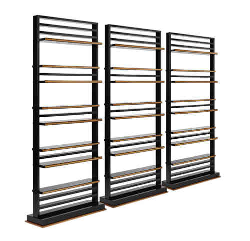 Open bookcase / room divider