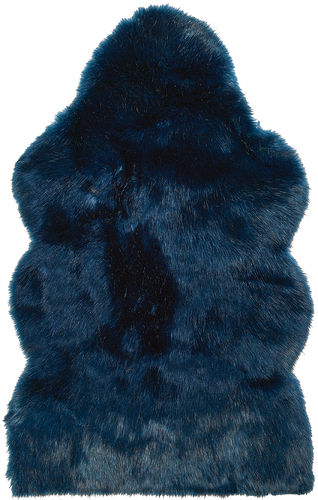 MIDNIGHT WOLF Sheepskin