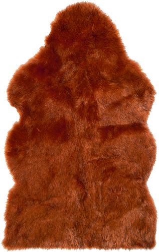 SUNSET WOLF Sheepskin