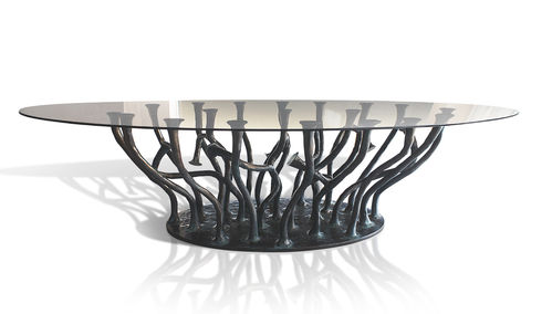 ALLANA Dining Table Glass