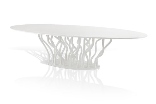 ALLANA dining table white