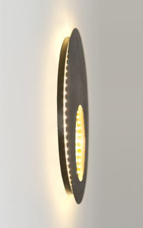 LED replacement strap for planet wall lights
