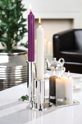 ROD CANDLES lacquered 25 cm / 3 cm