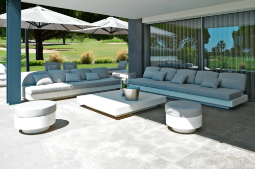 NORDIC sofa modules, 1 to 5 seaters