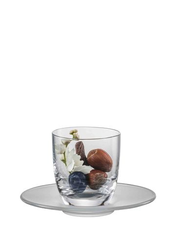 SUPERIOR ESPRESSO glass with frosted plate