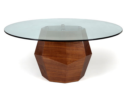 ROCK dining table walnut