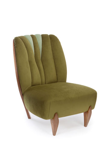 NA PALI armchair Cotton Velvet