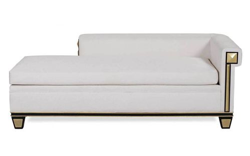 ANUBIS Sofa Chaiselongue white