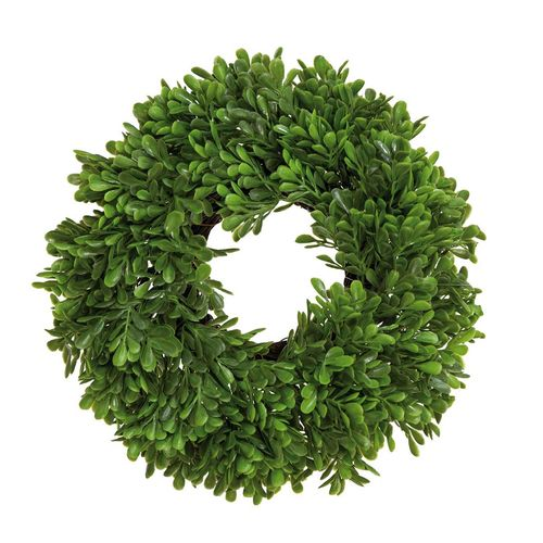 BOX WREATH artificial plant